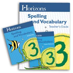 Horizons Spelling and Vocabulary 3 Complete Set
