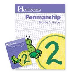 Go to Horizons Penmanship 2nd Grade Homeschool Kit 978074302114