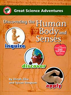 Go to Discovering the Human Body and Senses, Great Science Adventures Series 9781929683147