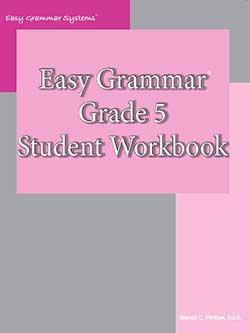 Go to Easy Grammar 5 Student Workbook