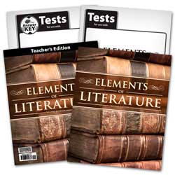 Go to BJU Press Elements of Literature