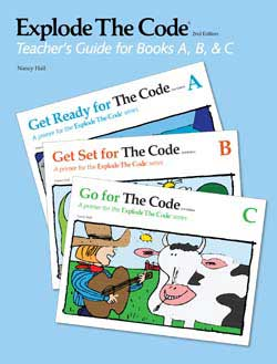 Explode the Code Teacher's Guide/Key, Books A, B, C 2nd Edition 9780838878224
