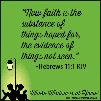 Homeschool Diligence and Faith