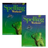 Go to MCP Spelling Workout 2002 Level C Publisher: Modern Curriculum Press
