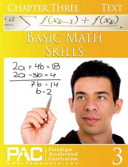 Paradigm Basic Math Skills (Print).