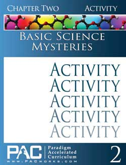 Go to Basic Science Mysteries Activity Booklet Set (Print), Publisher: Paradigm Accelerated Curriculum (PacWorks)