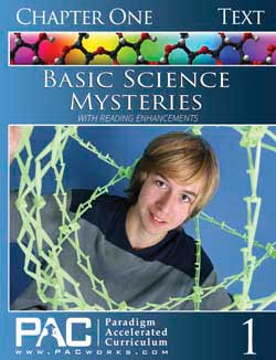 Go to Basic Science Mysteries Text Booklet Set (Print), Publisher: Paradigm Accelerated Curriculum (PacWorks)