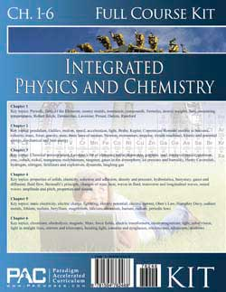 Go to Paradigm Integrated Physics Chemistry 1 & 2 Full Course Kit (Print), Publisher: Paradigm Accelerated Curriculum (PACWORKS)