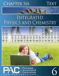 Go to Paradigm Integrated Physics & Chemistry 1 & 2 Text (Print), Publisher: Paradigm Accelerated Curriculum (PACWORKS)