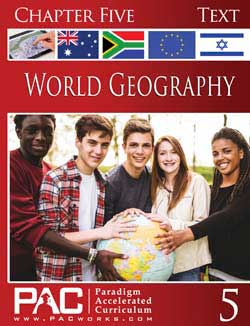 Go to Paradigm World Geography Kit (Print), Publisher: Paradigm Accelerated Curriculum (PACWORKS)