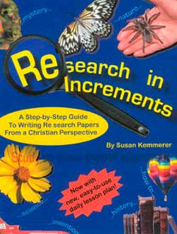 Research in Increments 9780975854310 By Susan Kemmerer