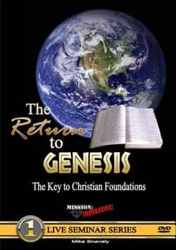 Return to Genesis DVD, Mike Snavely, Mission Imperative 9780971455221