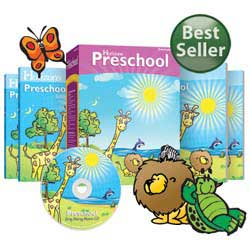 Horizons Preschool Curriculum Set.
