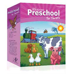 Go to Horizons Preschool for Threes Curriculum Set PRS000-9780740329951