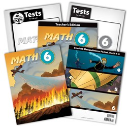 BJU Press Math 6 Homeschool Kit