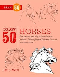 Draw 50 Horses by Lee J. Ames 9780823085811