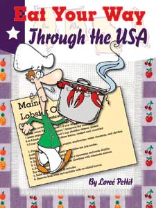 Eat Your Way Through the USA Cookbook.