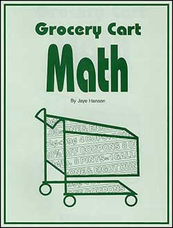 Grocery Cart Math by Common Sense Press