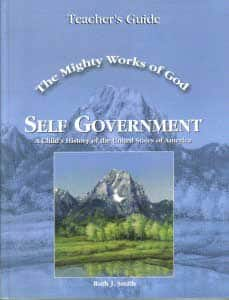 The Mighty Works Of God Self Government Teacher's Guide