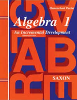 Saxon Algebra 1 Homeschool Packet.