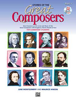 Go to Stories of Great Composers by Alfred
