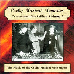 Csehy Musical Messengers CD 780093200241