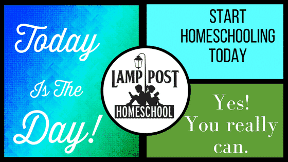 Today is the Day! Yes, You can Start Homeschooling Today.