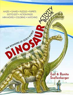 Go to The Wonders of God's World Dinosaur Activity Book 9780890515150