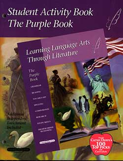 Purple Book Student Activity Book (5th) Learning Language Arts Through Literature 9781880892206