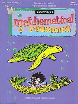 Go to Preschool Mathematical Reasoning for Ages 3-4 by The Critical thinking Co.