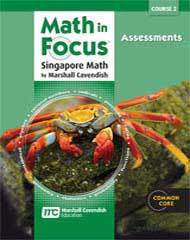 Math in Focus Course 2 Assessments for Grade 7 9780547579047