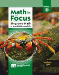 Math in Focus Course 2B Grade 7 Homeschool Kit 9780544129375