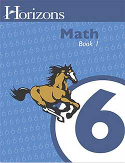Go to Horizons Math 6 By Alpha Omega Publications