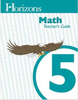 Horizons Math 5 Teacher's Guide.
