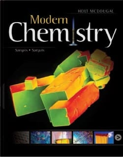 Go to Holt McDougal Modern Chemistry Homeschool Package 9780544143319