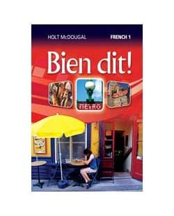 Go To Holt Mcdougal Bien Dit French Level 1 Homeschool Package