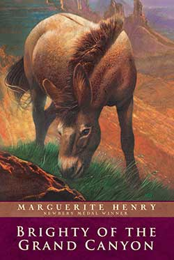 Brighty of the Grand Canyon By Marguerite Henry 9780689714856