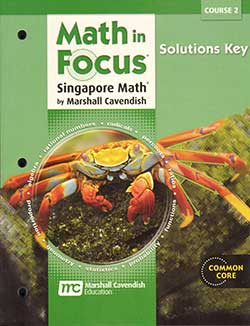 Singapore Math Solutions Key Course 2 9780547579115 Math in Focus