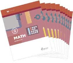Math 3 Student LIFEPACs Only MAT0300-9781580957205 Publisher: Alpha Omega Publications