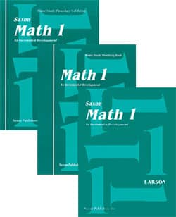 Go to Saxon Math 1 Homeschool Kits 9781565770140