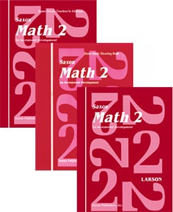 Go to Saxon Math 2, 1st Edition Homeschool Kit 9781565770195