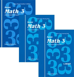 Go to Saxon Math 3, 1st Edition Homeschool Kit 9780939798834