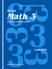 Go to Saxon Math 3 1st Edition Homeschool Teacher's Manual 9781565770164 Publisher: Saxon Homeschool, Houghton Mifflin Harcourt