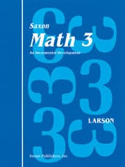Go to Saxon Math 3 Workbooks and Fact Cards 9780939798834, Published by Saxon Homeschool, Houghton Mifflin Harcourt