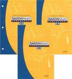 Saxon Math 5/4 Homeschool Kit 3rd Edition 9781591413479