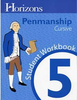 Go to Horizons Penmanship 5 Homeschool Kits