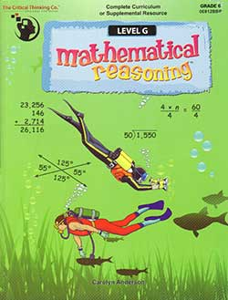 Go to Mathematical Reasoning Level G 9781601443144