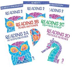 BJU Press Reading 2 Homeschool Kit 3rd Ed.