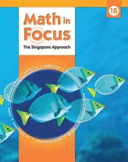 Math in Focus 1B Homeschool Kit 9780547428758 The Singapore Approach