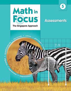 Math in Focus 5 Assessments 9780669016093 The Singapore Approach